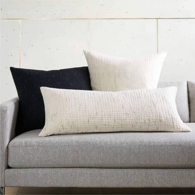 cb2 throw pillows
