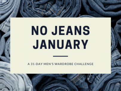 Give up your Denim for No Jeans January!