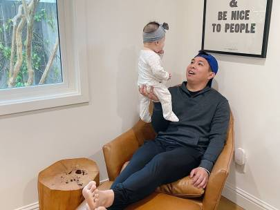 This Stay at Home Dad's Style Is Self-Isolation Inspiration