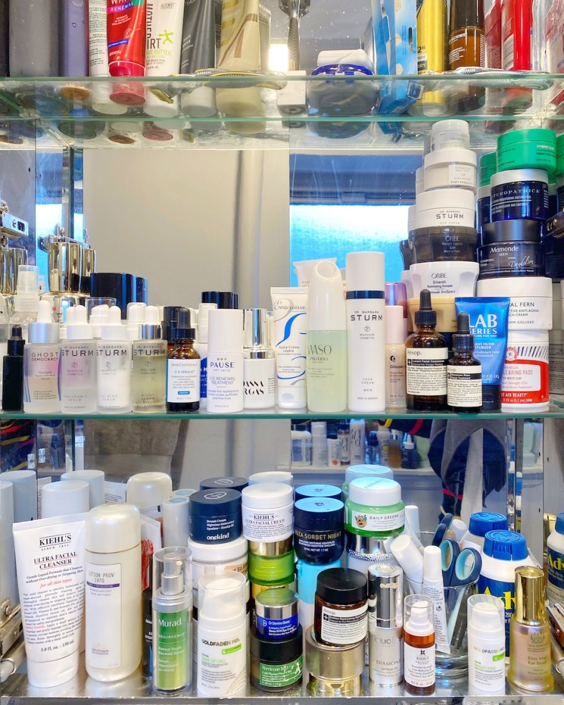 men's skincare products