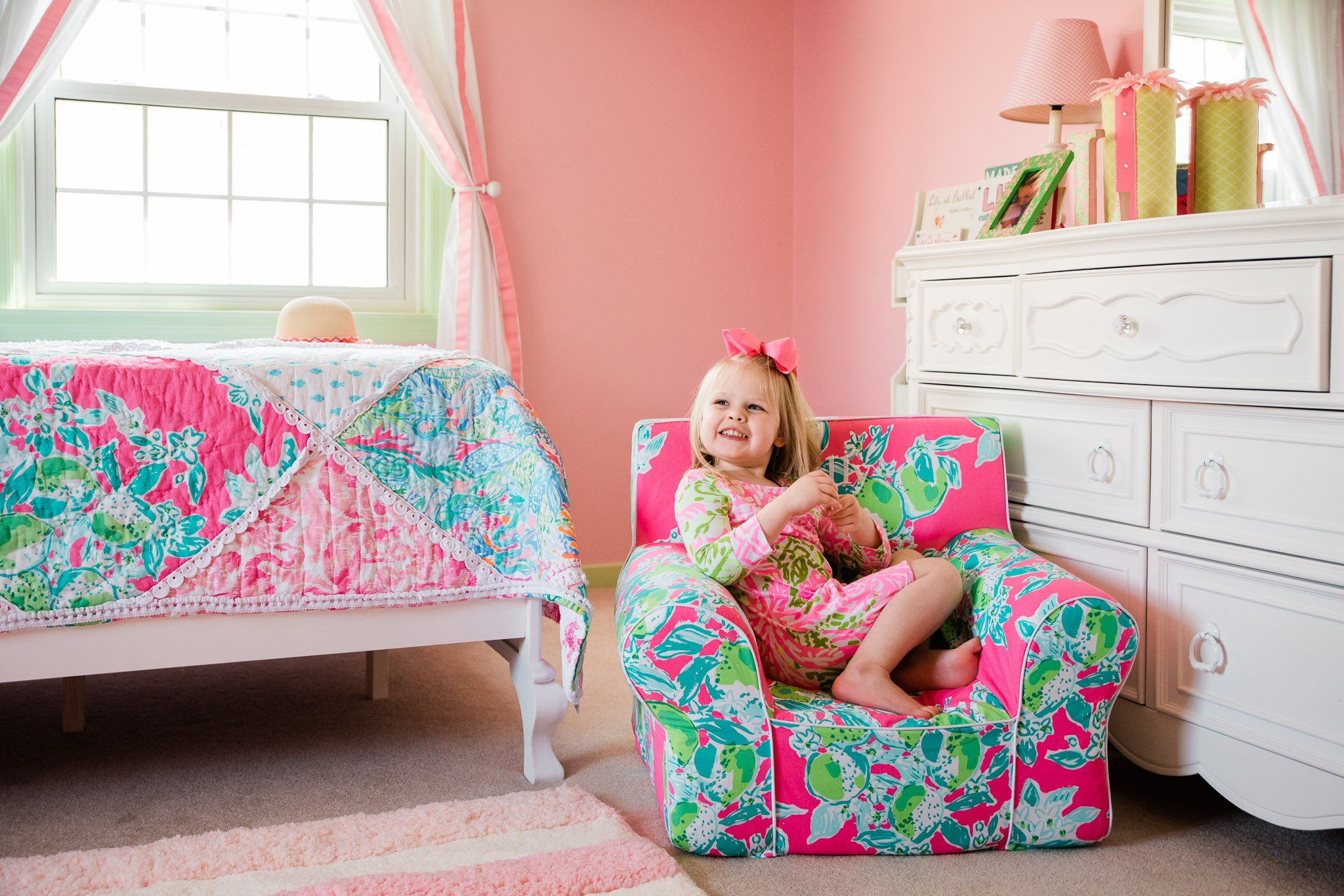 Delicieux Lilly Pulitzer And Pottery Barn | Lilly X PB Collection | Little Girlu0027s  Bedroom | Lilly