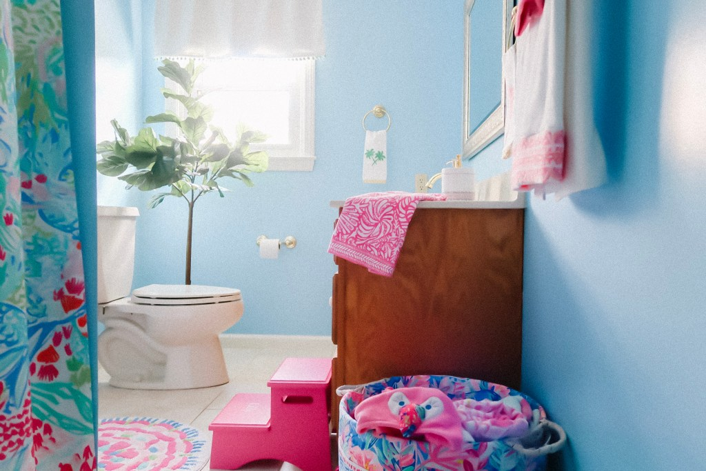 Lilly Pulitzer For Pottery Barn Kids, Lilly Pulitzer Bathroom