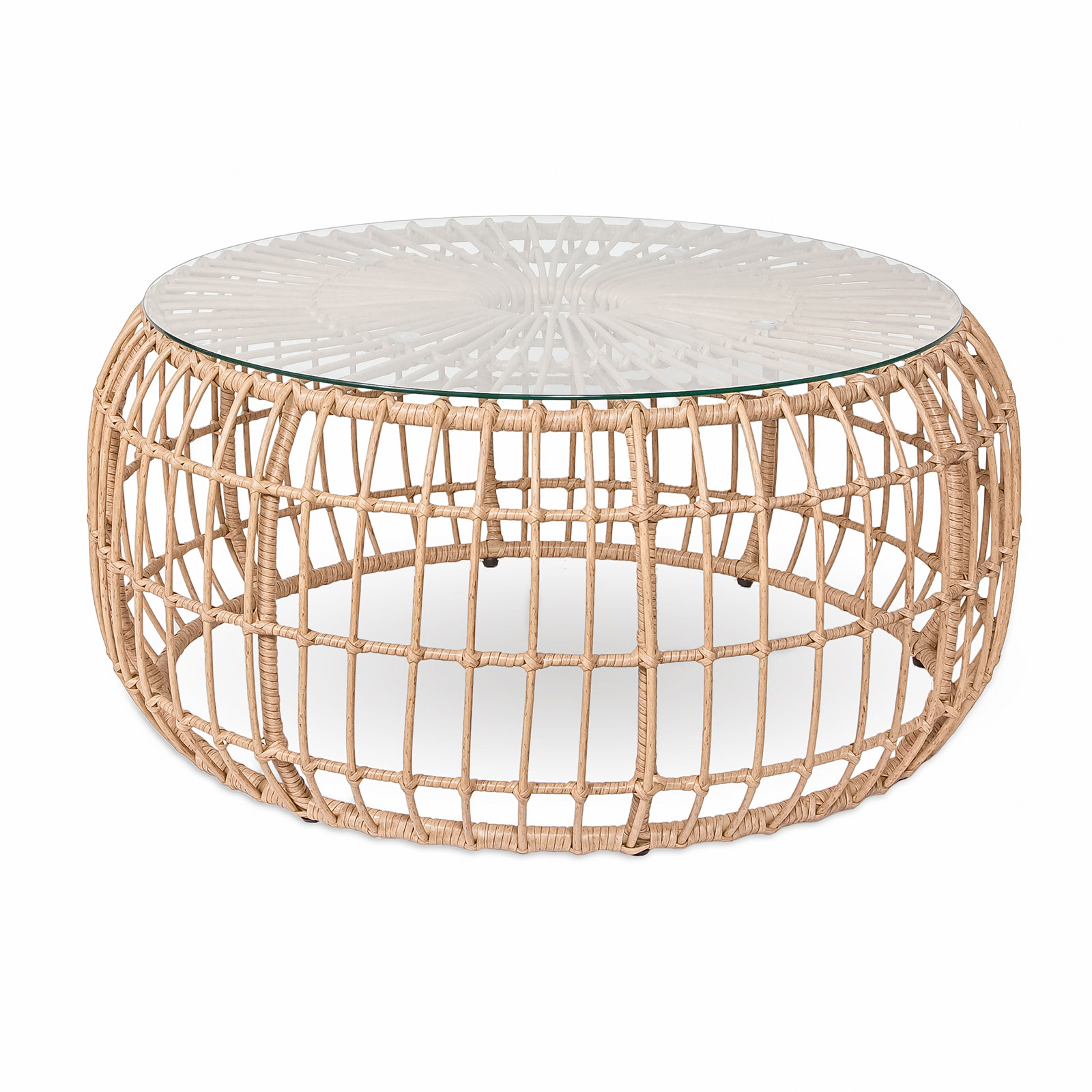 calabria round coffee table style in form