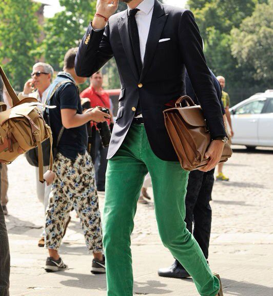 Street Style: Bright Colours