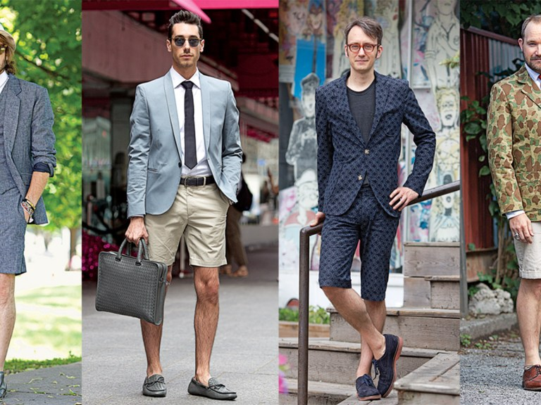 How to Wear the Summer Shorts