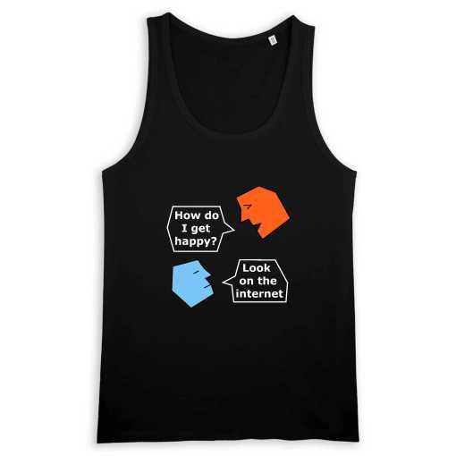Talking Heads Heren T-shirt Met Ronde Hals 100% Biologisch Katoen
