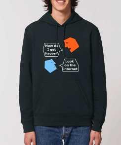 Talking Heads Unisex Organic Hoodie