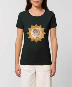 Down and Up Dames T-shirt - 100% Biologisch Katoen