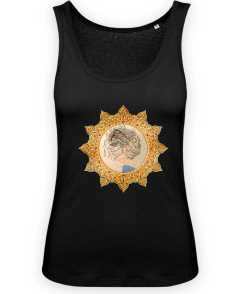 Down and Up Dames Tank Top 100% Organic Cotton