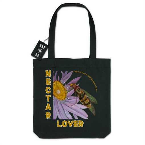 Nectar Lover Gerecycleerde Organische Draagtas