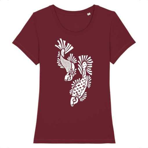Kempvissen Dames T-shirt - 100% Biologisch Katoen - EXPRESSER ( 21.95 )