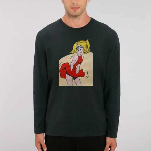 Updraft Dames 100% biologisch T-Shirt Met Lange Mouwen
