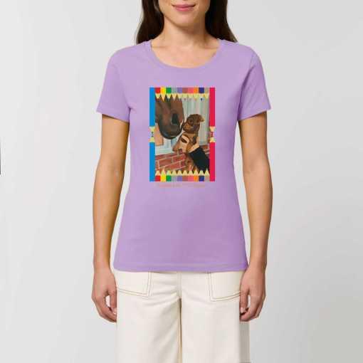 Ceesje Dames T-shirt - 100% Biologisch Katoen