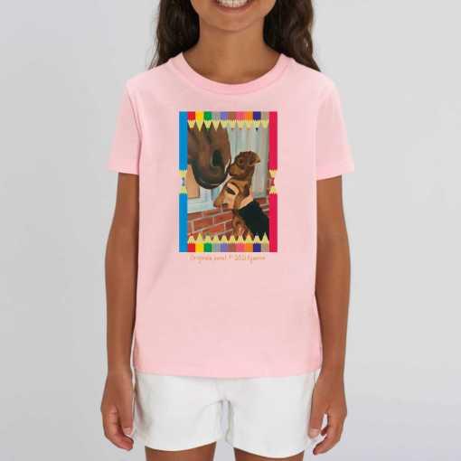 Ceesje Kinder T-shirt - 100 % Biologisch Katoen