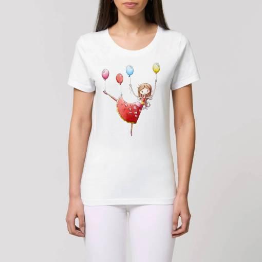 Boven En Beneden Eco Dames T-Shirt