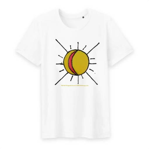 Del Sol Heren T-shirt Met Ronde Hals 100% Biologisch Katoen