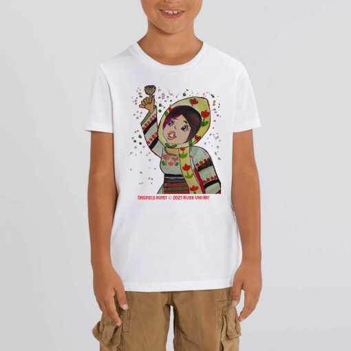 Het Geluid Van Vreugde Kinder T-shirt - 100 % Biologisch Katoen