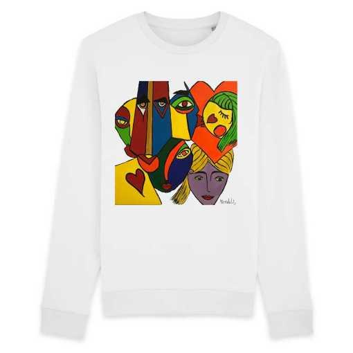 Just Wow Organisch Unisex-Sweatshirt