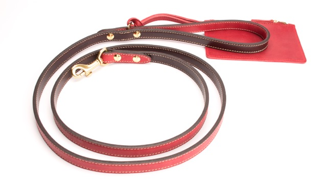 DogLeash_Red+Brown