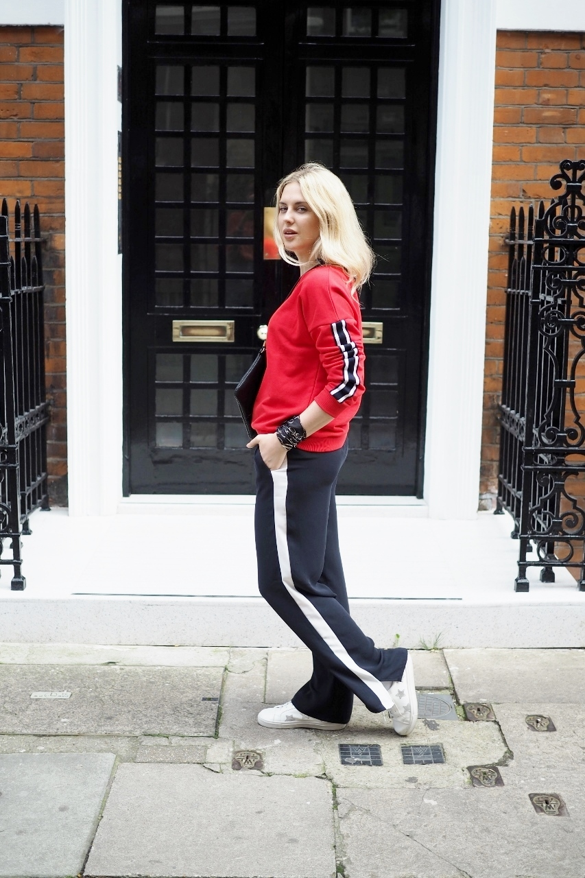 HOW TO NAIL NEXT SEASONS TRACK PANT TREND