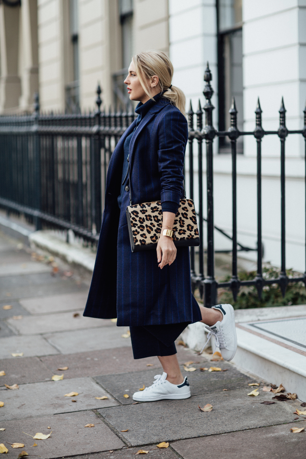 EASY COLOUR BLOCKING & A POP OF PRINT
