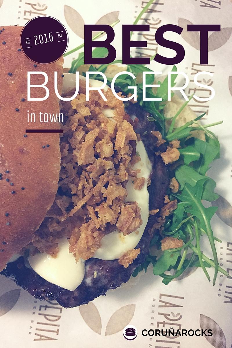 5 sitios donde comer hamburguesas en La Coruña
