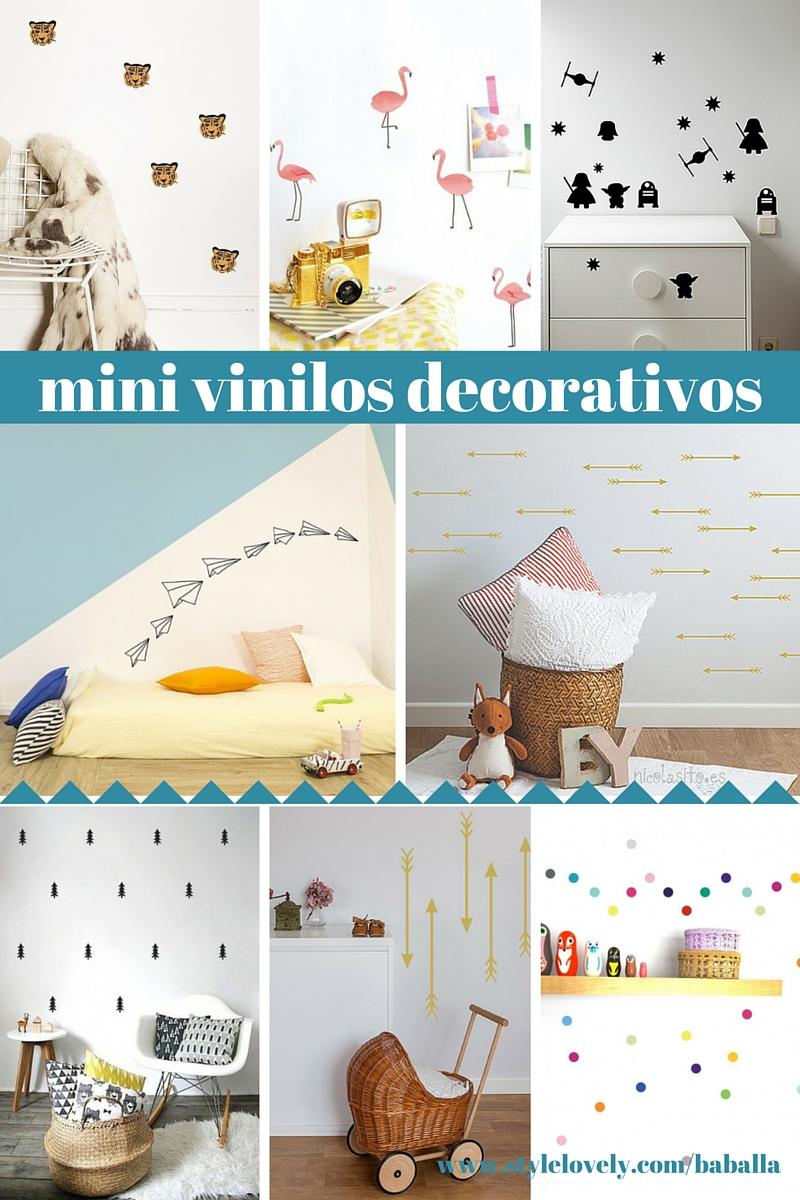 mini vinilos decorativos