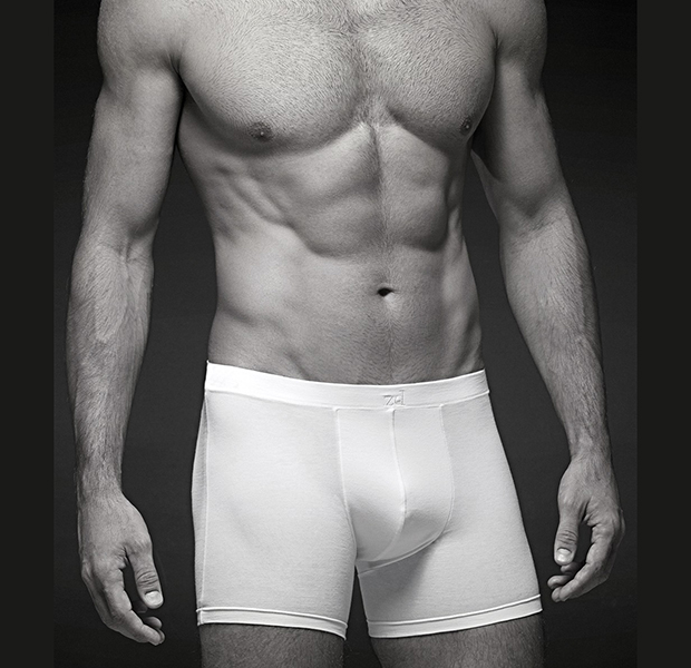 man with zd briefs