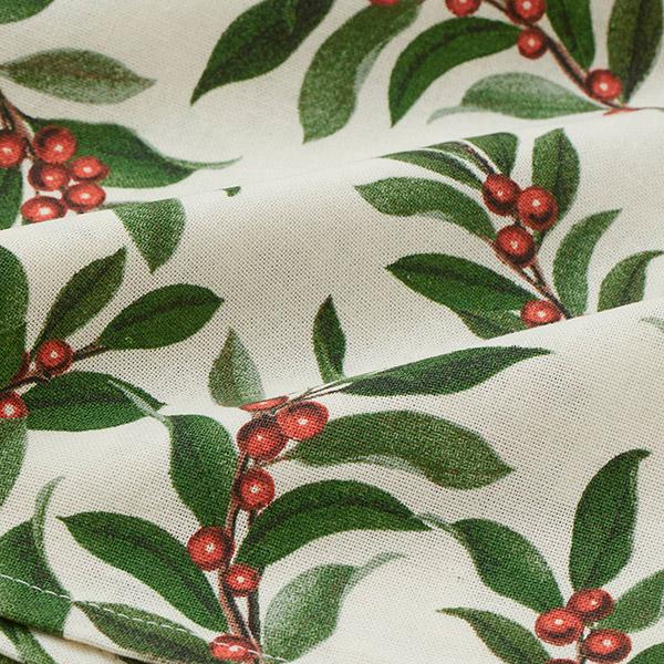 Printed tablecloth for christmas table