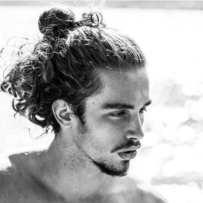 40 Lovable Man Bun Hairstyle Ideas The Easy And Sexy Headdress