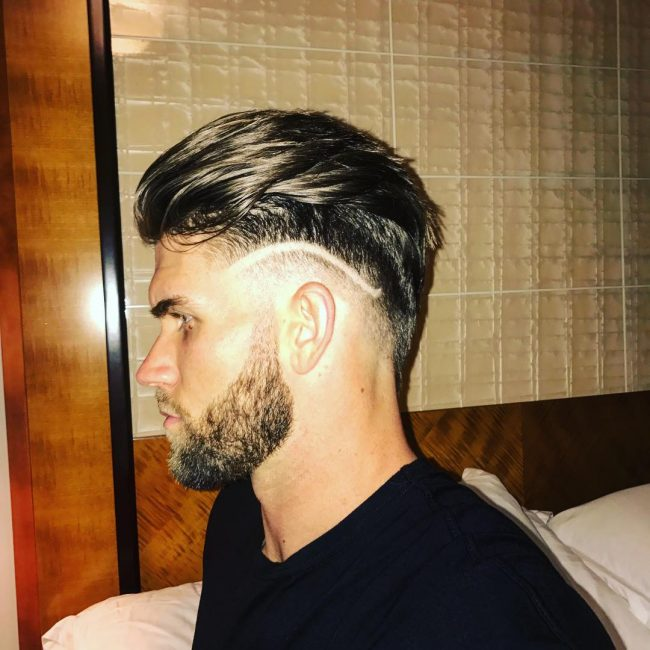 40 Bryce Harper Hair Ideas 2018 Menhairstylist Com