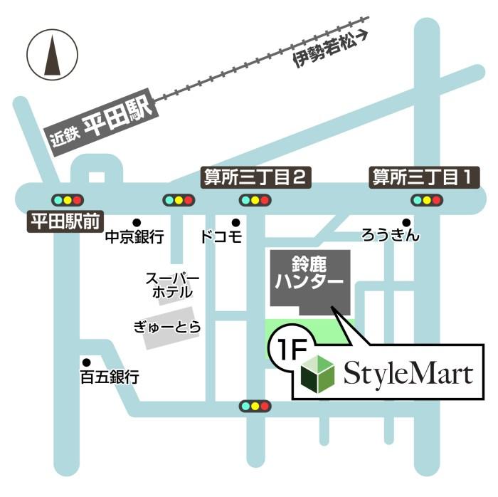 鈴鹿MAP
