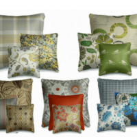 Fifteen Fun and Fabulous Throw Pillows