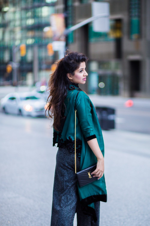 green-cape-allena-fareena-pakistani-fusion-eastern-western-wide-leg-pants-zara-ysl-black-2