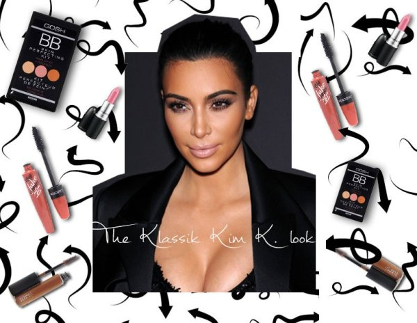 HERE'S HOW TO ACHIEVE THAT CLASSIC KIM KARDASHIAN LOOK