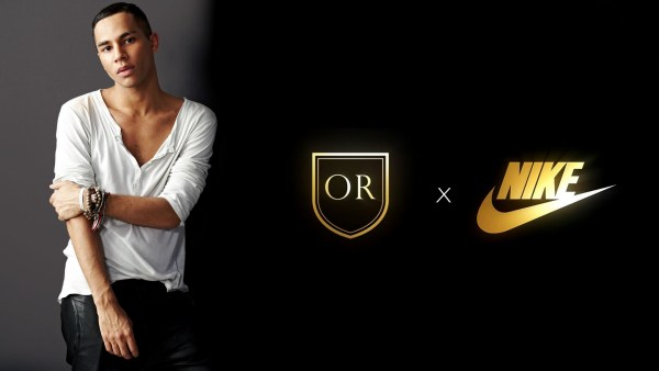 OLIVIER ROUSTEING OF BALMAIN CONFIRMS NIKELAB COLLABORATION