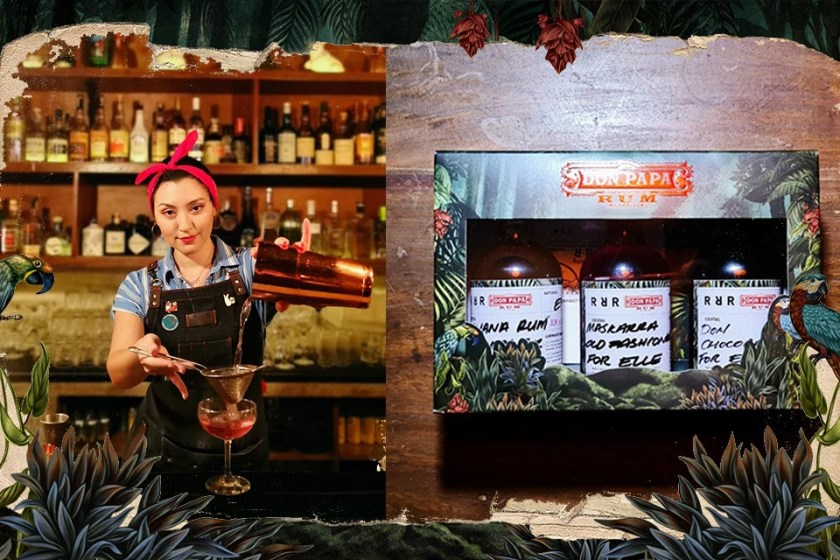 DON PAPA RUM AND RUN RABBIT RUM ARE RAISING THE BAR TO CREATE A ONE OF A KIND VIRTUAL BAR EXPERIENCE