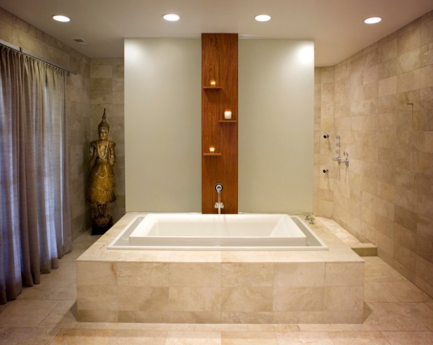 21 Peaceful Zen Bathroom Design Ideas For Relaxation In