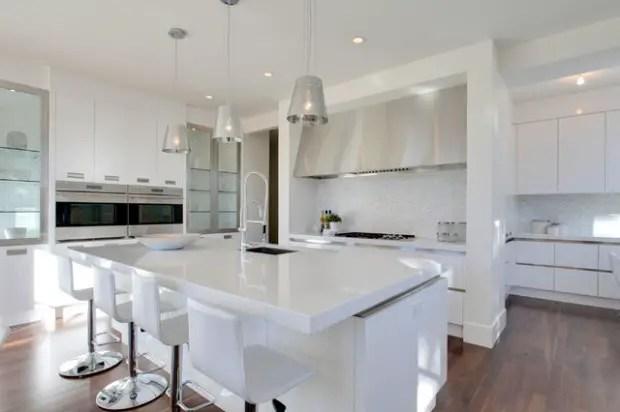 18 Elegant White Kitchen Design Ideas
