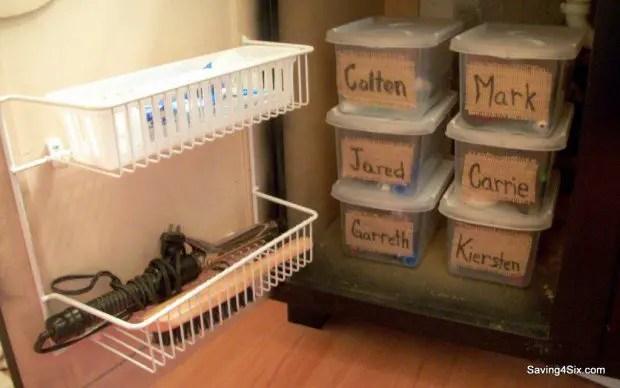 16 Clever DIY Storage Hacks For Small Bathrooms