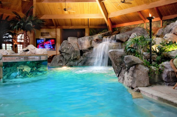 20 Luxury Indoor Swimming Pool Designs For A Delightful