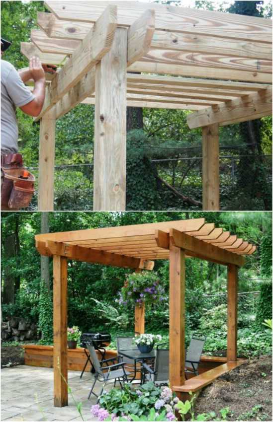 15 diy pergola ideas and plans you can