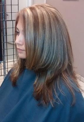 Foils Full Head HIGHLIGHTS HAIR COLOR Hair Salon