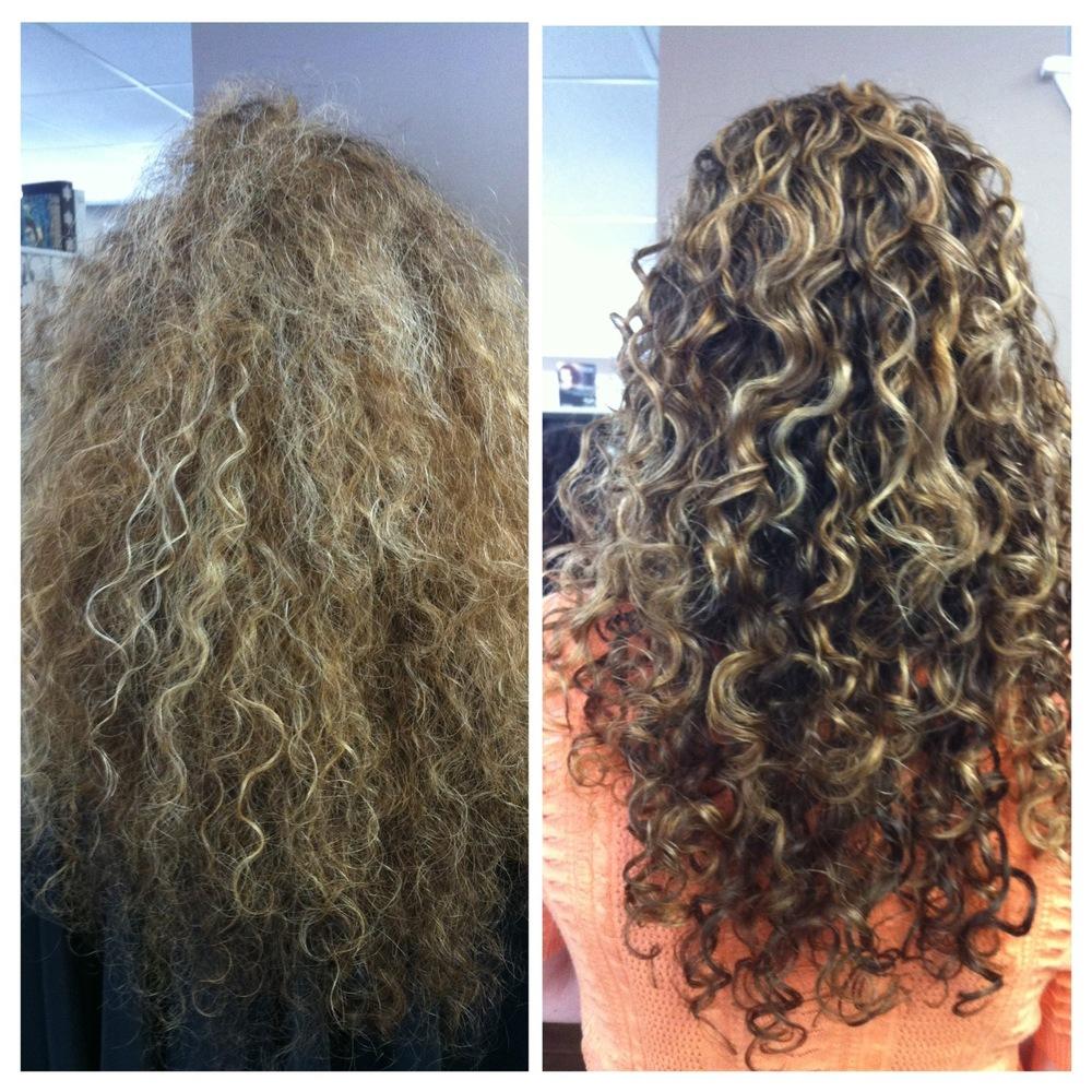 Ouidad Hair Cut Hairstly