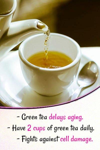 Green Tea for Skin Whitening