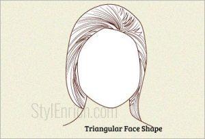 Triangular-face-shape