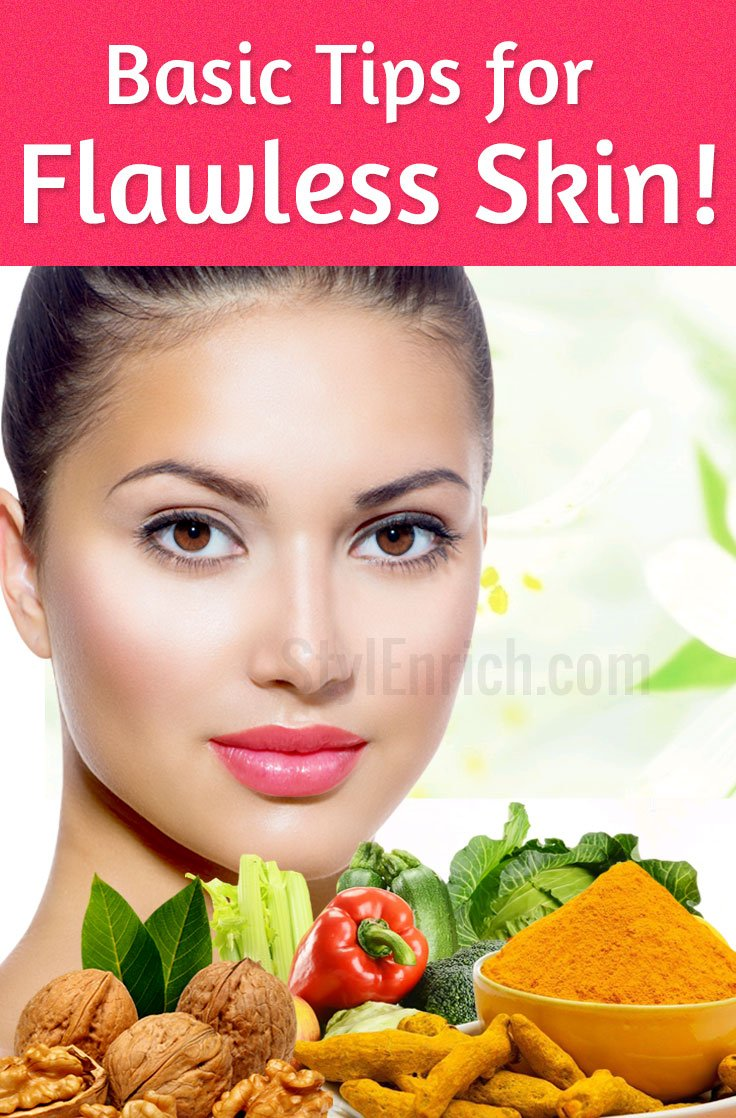 Flawless Skin Tips