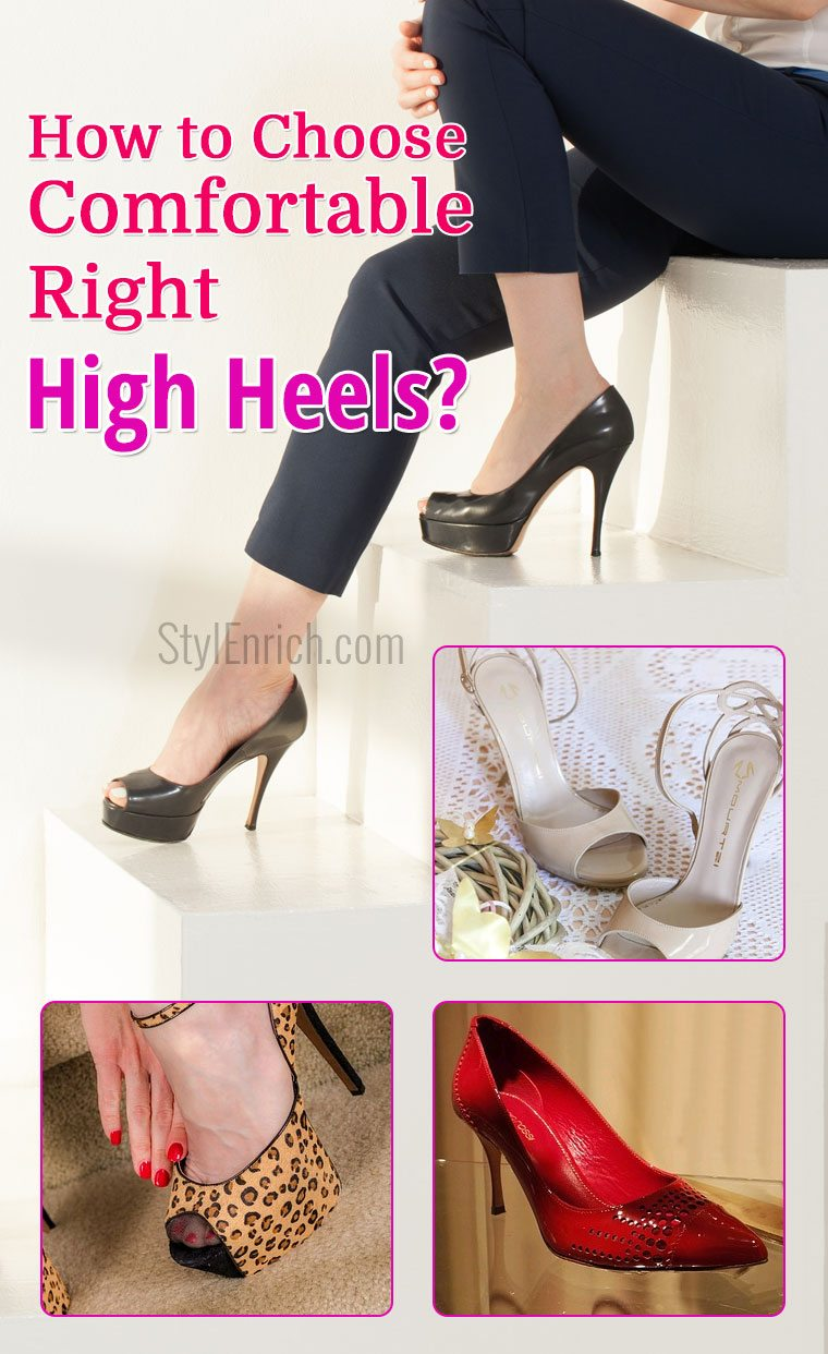 Comfortable Right High Heels