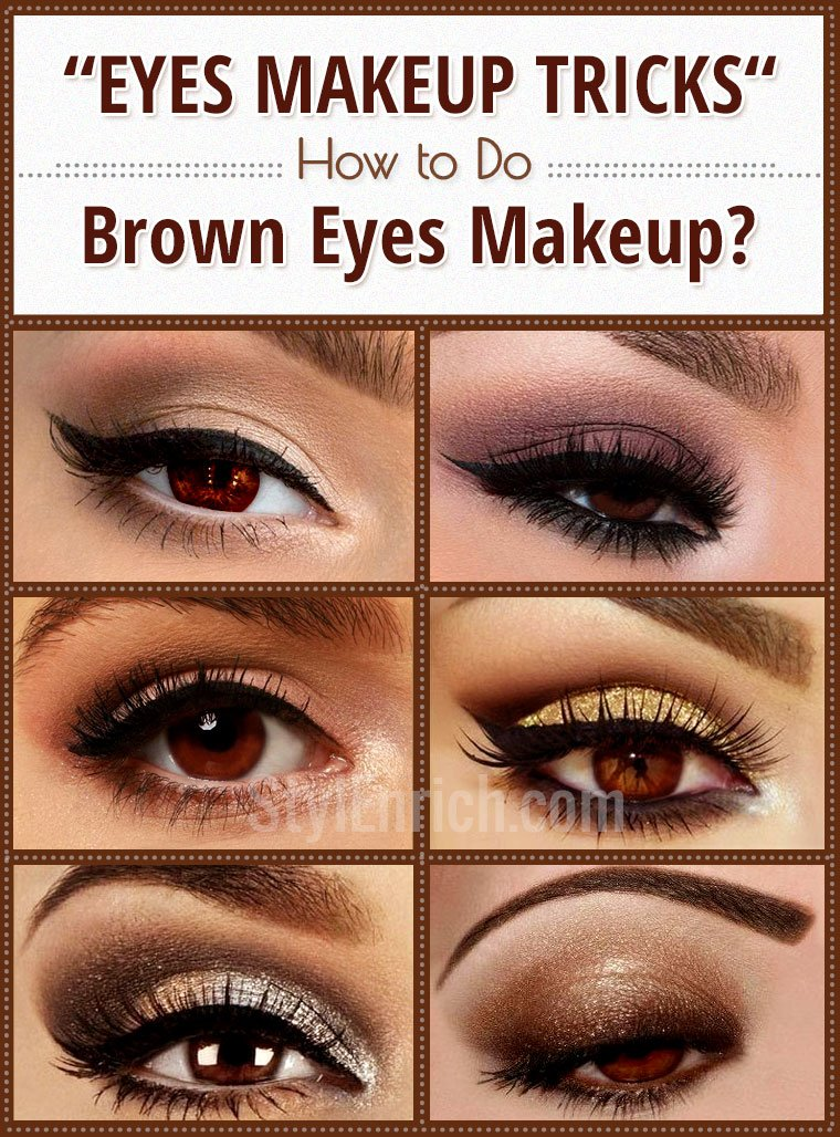 Brown Eyes Makeup Tips & Tricks to Get Gorgeous Eyes!