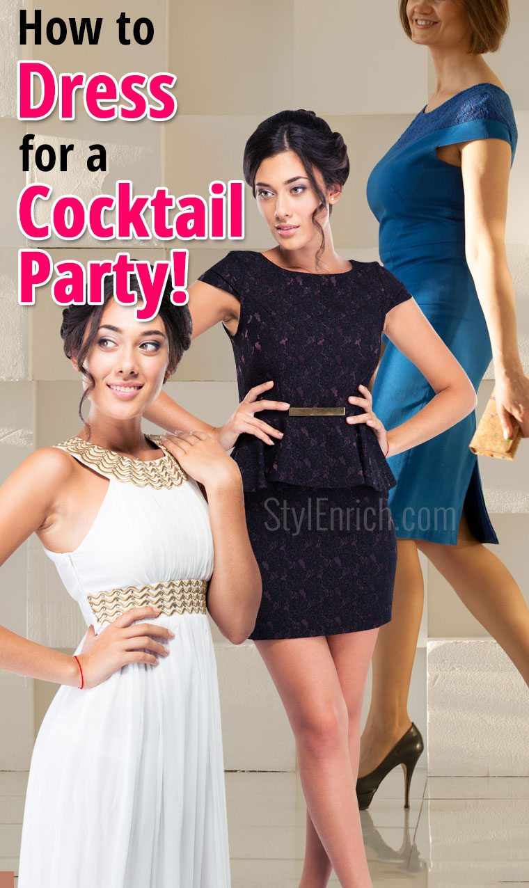 How to dress for a cocktail party